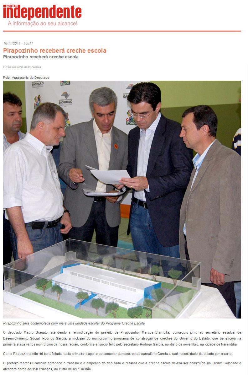 Portal independente 16 11 11 for Portal corrente e noticia